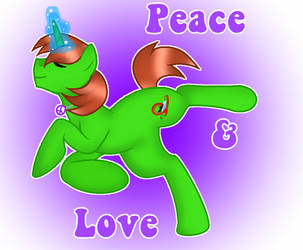 Peace and Love Ryan by DoraeArtDreams-Aspy