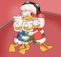 The Duck Family Reunion by DoraeArtDreams-Aspy