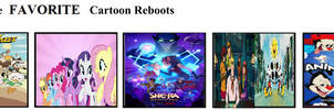 My Top 5 Favorite Cartoon Reboots