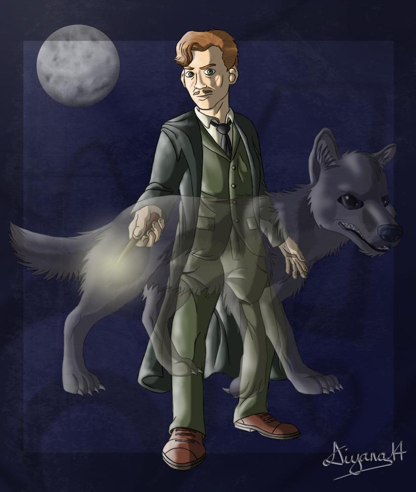 Remus Lupin by CartoonSilverFox