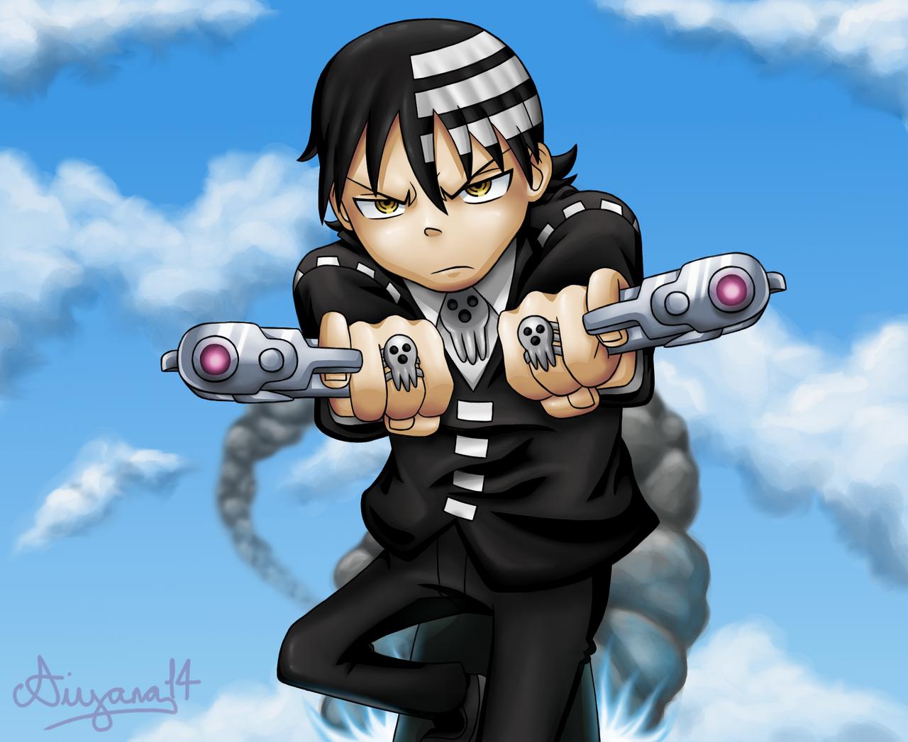 Death The Kid by CartoonSilverFox