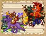 Sm'More Crash and Spyro