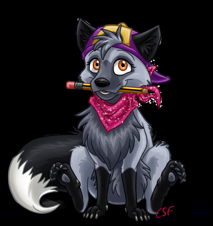 Cartoon Silver Fox by CartoonSilverFox