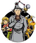 Inspector Gadget by CartoonSilverFox