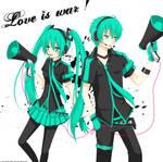Vocaloid: Love is war
