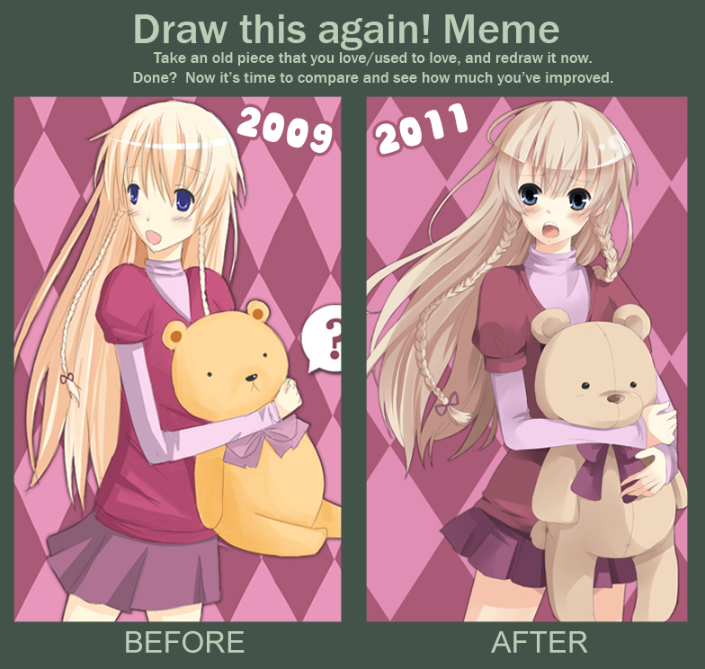 MEME: Draw this again by KawaiiPandah