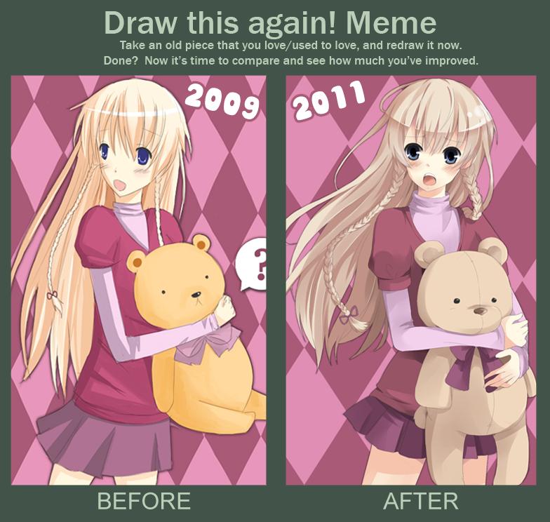 MEME: Draw this again by KawaiiPandah