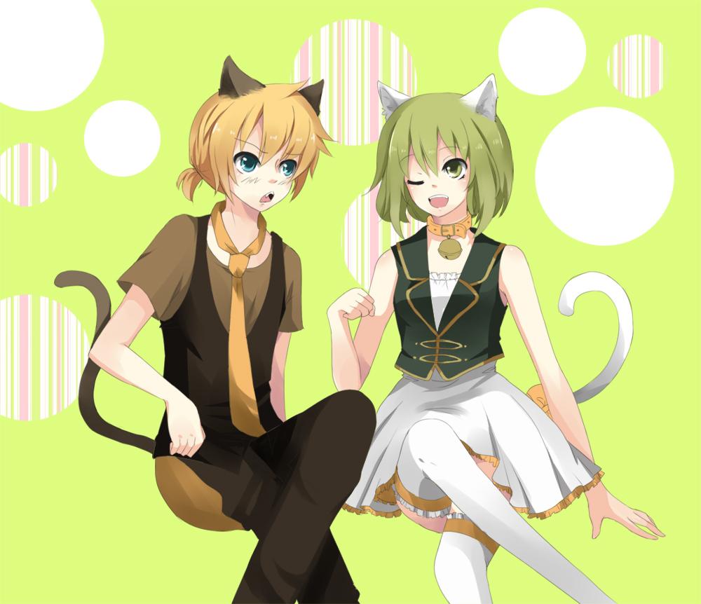 Vocaloid: Len x Gumi by KawaiiPandah