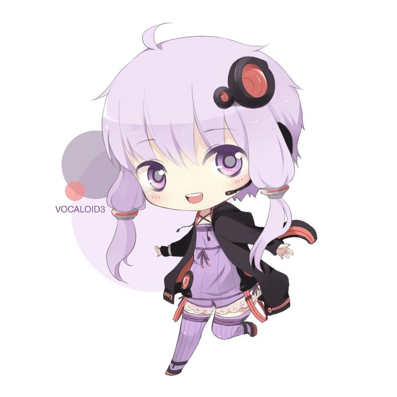 Vocaloid: Yuzuki Yukari by KawaiiPandah