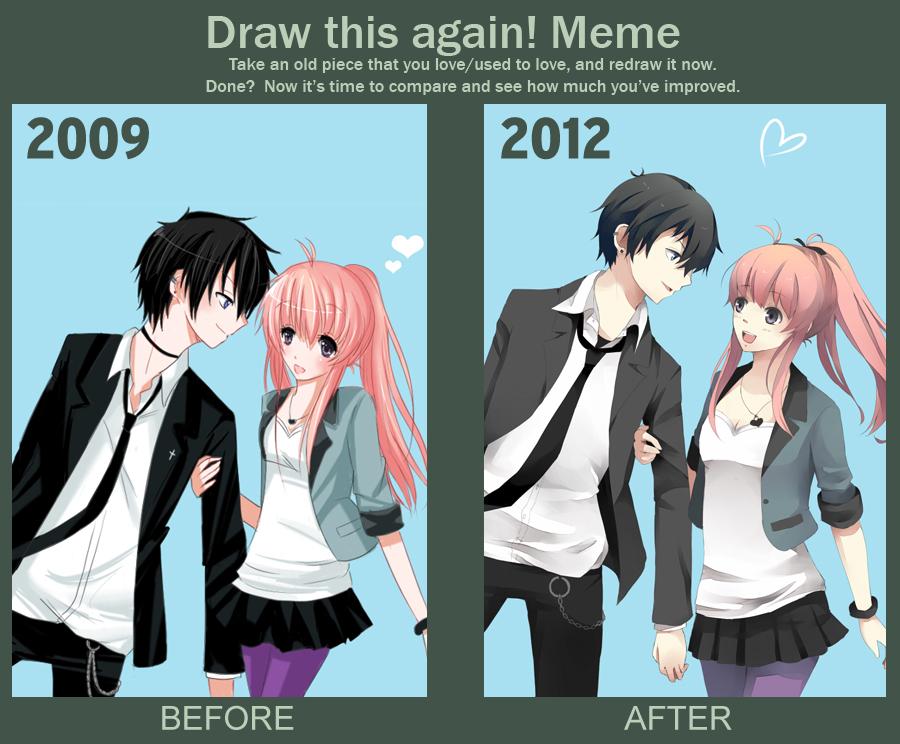 Meme: Draw this Again 2 by KawaiiPandah