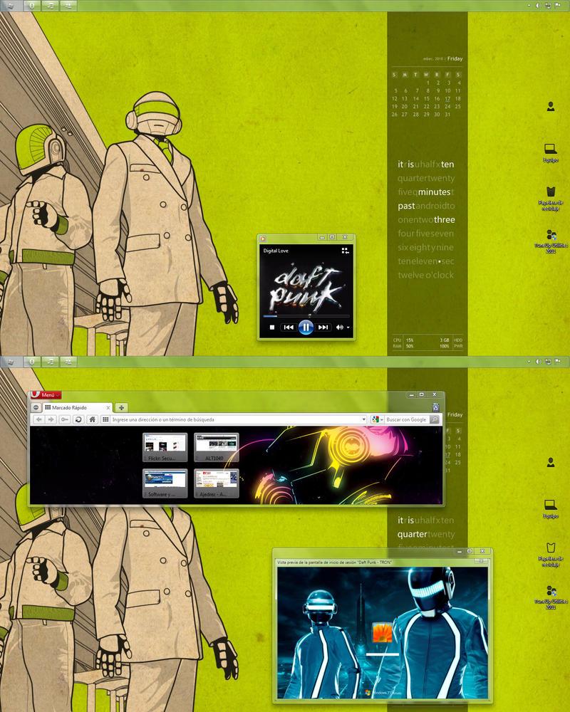 Daft Punk by L-0688 on DeviantArt