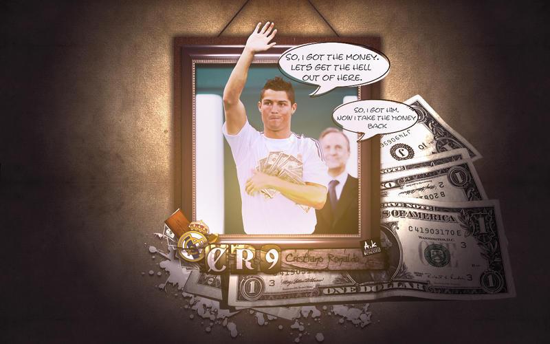 Cristiano Ronaldo :: The Money by escord