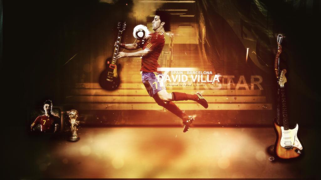 David Villa :: Spain Superstar by escord