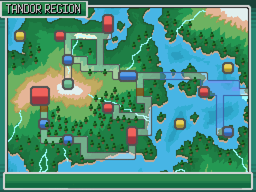West Tandor Region Map by JV12345
