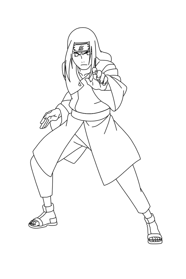Dibujos Lineales Sobre Personajes Otaku Zone