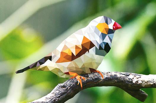 Low Poly #1 : bird