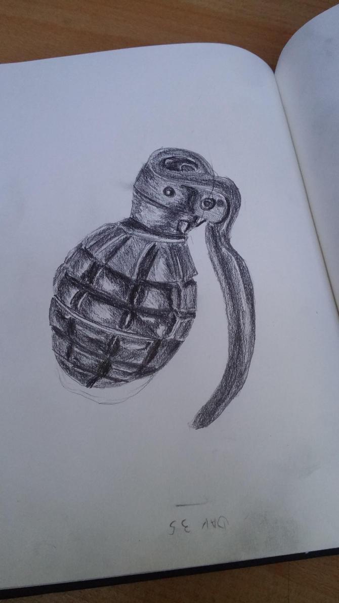 Day 35 : Grenade by oliviou-krakus