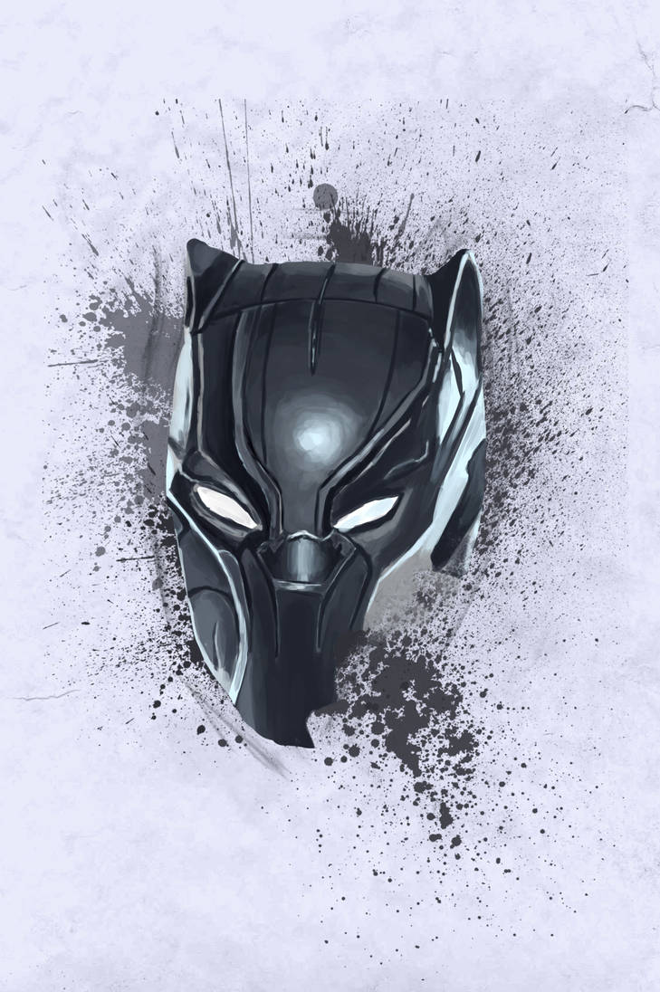 Mask: Black Panther by oliviou-krakus
