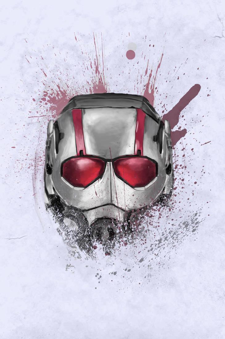 Mask: Ant man by oliviou-krakus