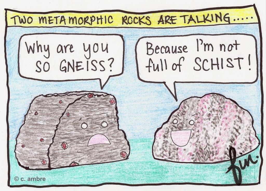 Geology Puns.