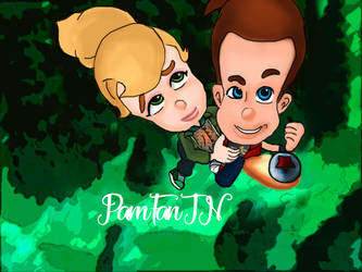 Jimmy and Cindy. by PamFanJN
