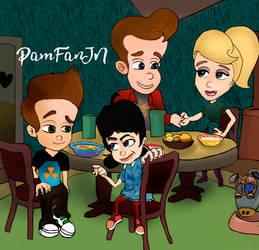Family Neutron and Vortex 2 by PamFanJN