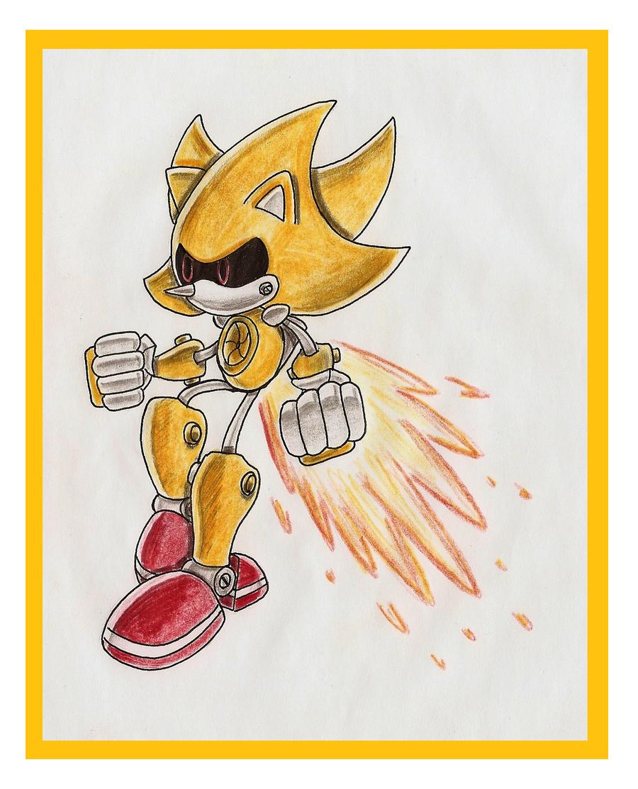 .:.: Super Metal Sonic :.:. by funkyjeremi
