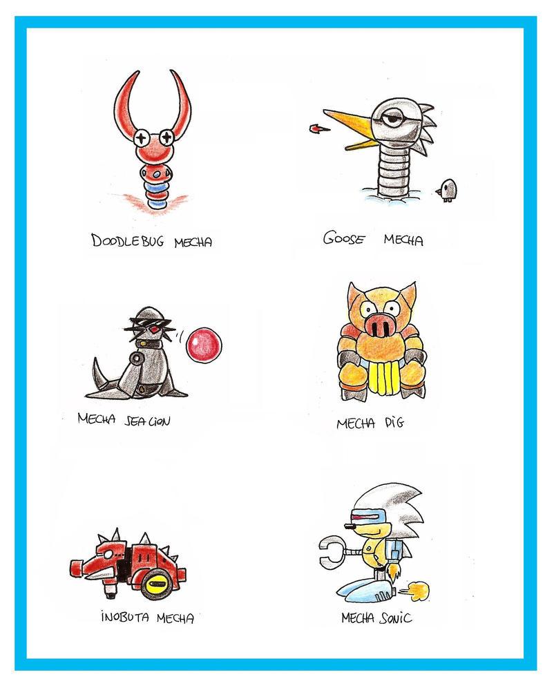 Sonic 2 8-BIT Bosses by funkyjeremi