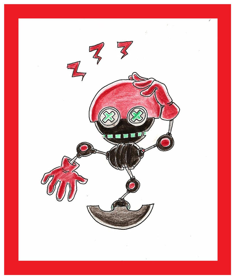 Ergo The Robot by funkyjeremi