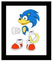Sonic As Rayman by funkyjeremi