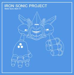 Metal Sonic Mark VI : The Iron Sonic by funkyjeremi