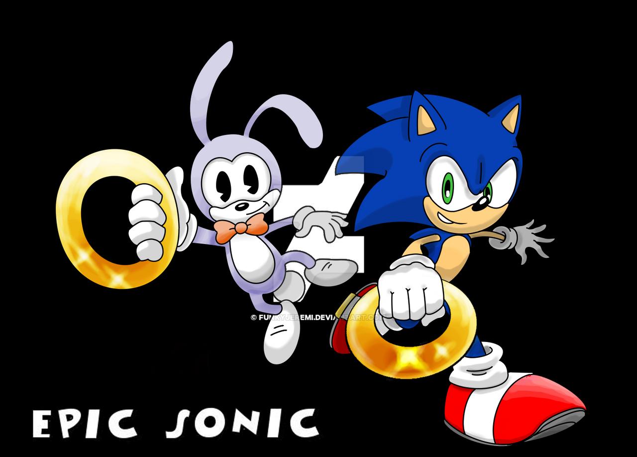 SEGA Epic Sonic by funkyjeremi