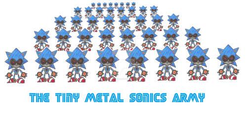 The Tiny Metal Sonics Army by funkyjeremi