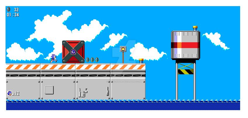 Metal Harbor Zone 8 Bit Mockup by funkyjeremi