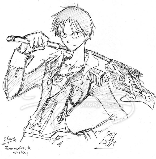 Sexy Luffy by kaoriAnzai