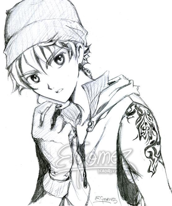 Raperos dibujos a lapiz - Imagui