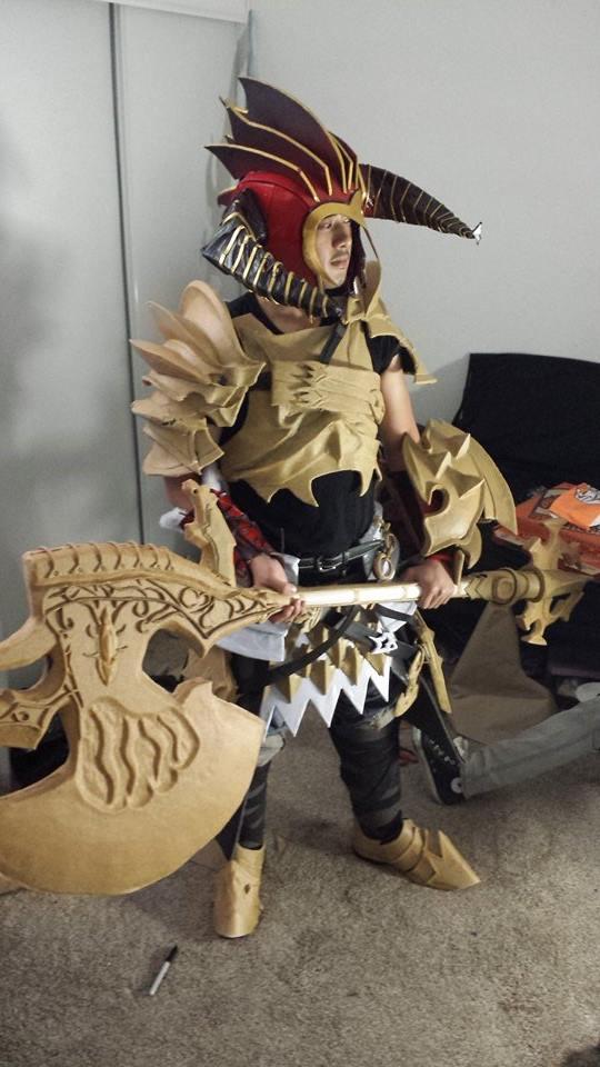 ffxiv warrior cosplay - photo #6