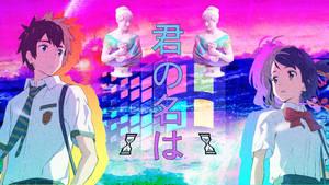 My Anime Vaporwave Wallpaper #06