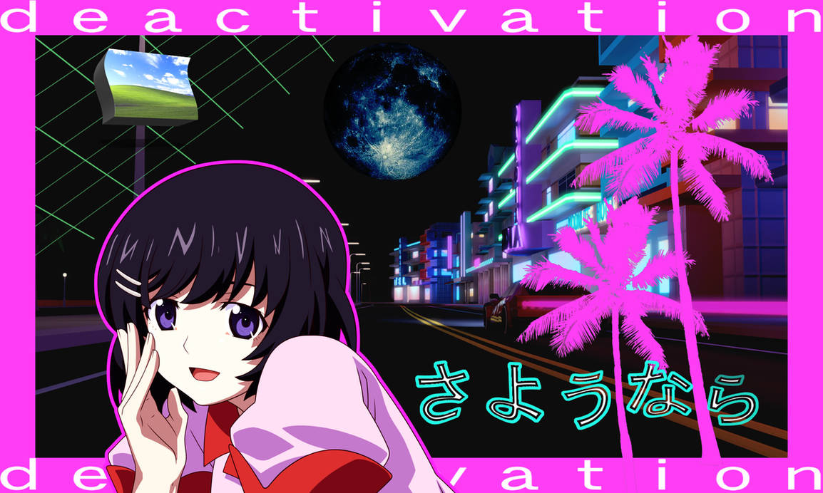 My Anime Vaporwave Wallpaper #09 by iamthebest052 on ...