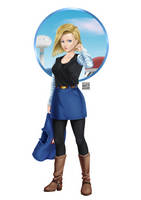 Android 18 by Kael-S