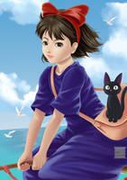 Kiki and Jiji by Kael-S
