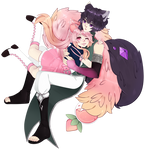 Fullbody Couple Commission for MissVintageLPS