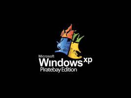 Pirate Bay Windows XP Logo