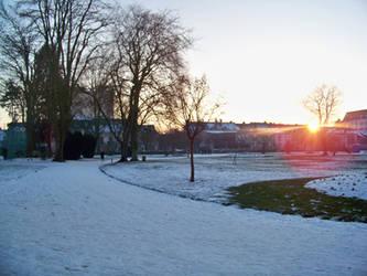 neige au parc pasteur 2