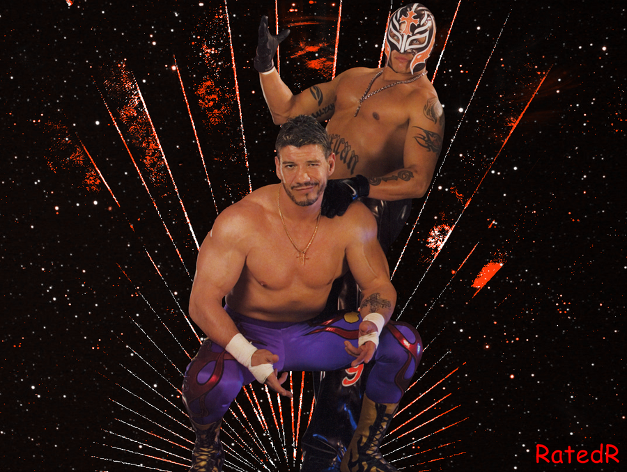 Eddie Gueeruero and Rey Mysterio by RatedRhd2001 on DeviantArt