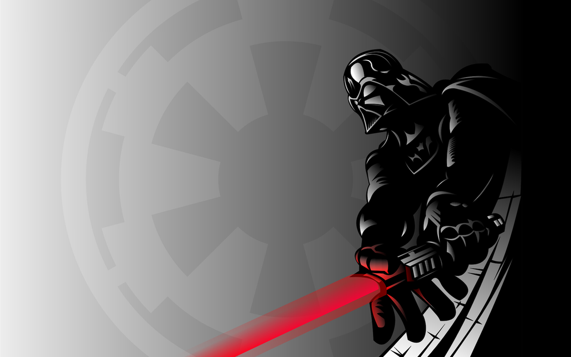 Darth Vader Widescreen by DanMed