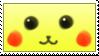 Stamp - Pikachu face by Azukii-chan