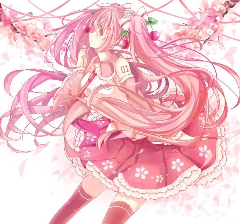 Sakura Miku by VeBonBon