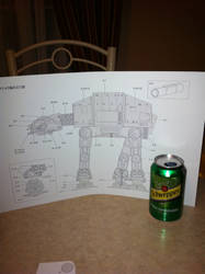 AT-AT (starwars) papercraftUntitled by steveeasye187
