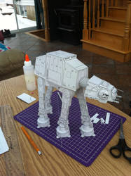 AT-AT Walker Papercraft by steveeasye187